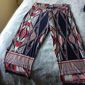 Sunny Leigh patterned flowy pants